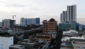 Medani városkép: A város Szumátra gazdasági motorja