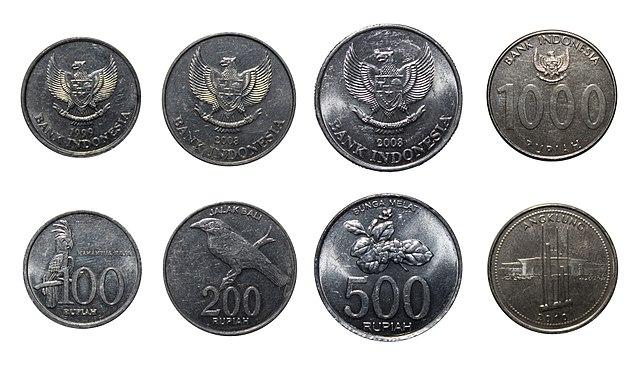 Indonéziában használatos érmék