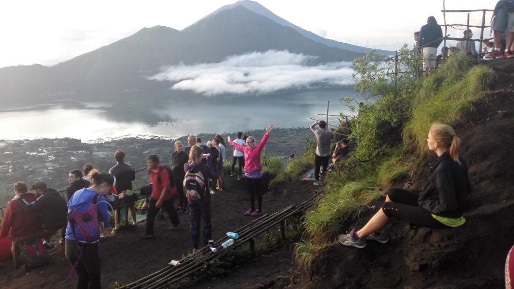 Batur-hegy vulkán