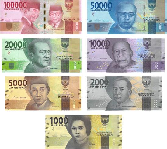 Indonéz bankjegyek