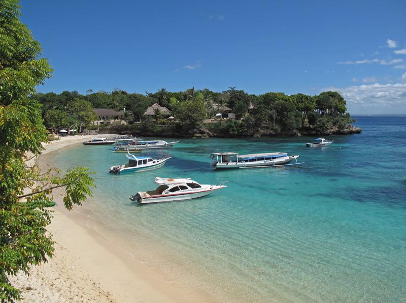 Nusa-Lembongan, Mushroom Beach