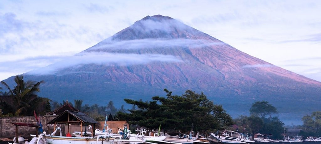 Anung-hegy vulkanikus kúpja