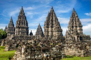 Prambanau hindu templom