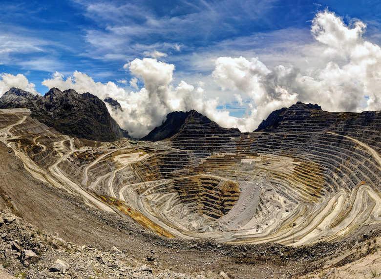 Arany bánya, Grasberg (Pápua)
