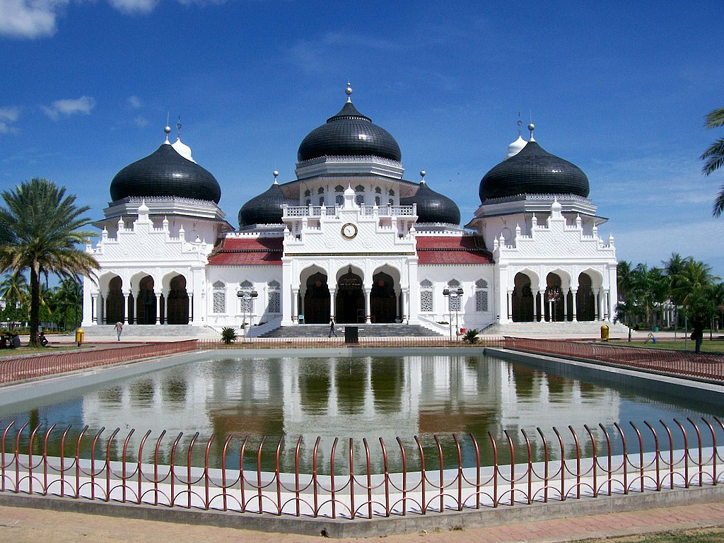 Baiturrahman mecset, Banda Aceh