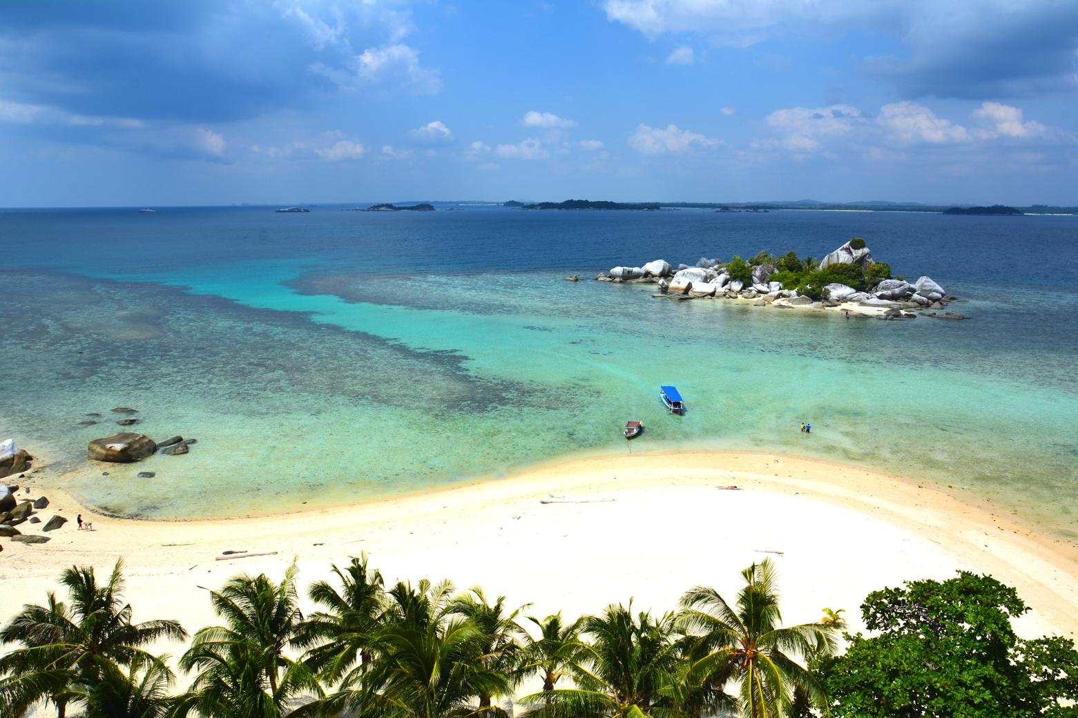 Belitung-sziget partvidéke