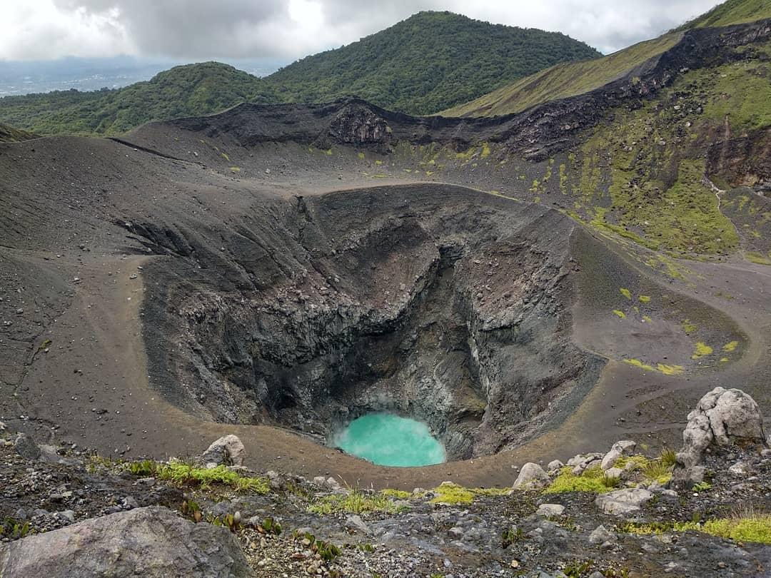 Bukit Kaba vulkán krátere