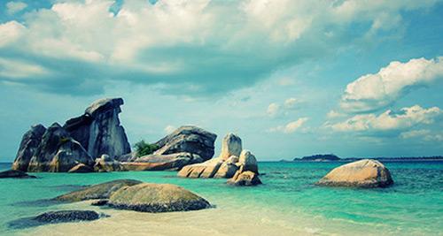 Dua-sziget tengerparti sziklái csodálatos látványt nyújtanak
