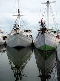Hagyományos vitorlások, Paotere kikötőjében