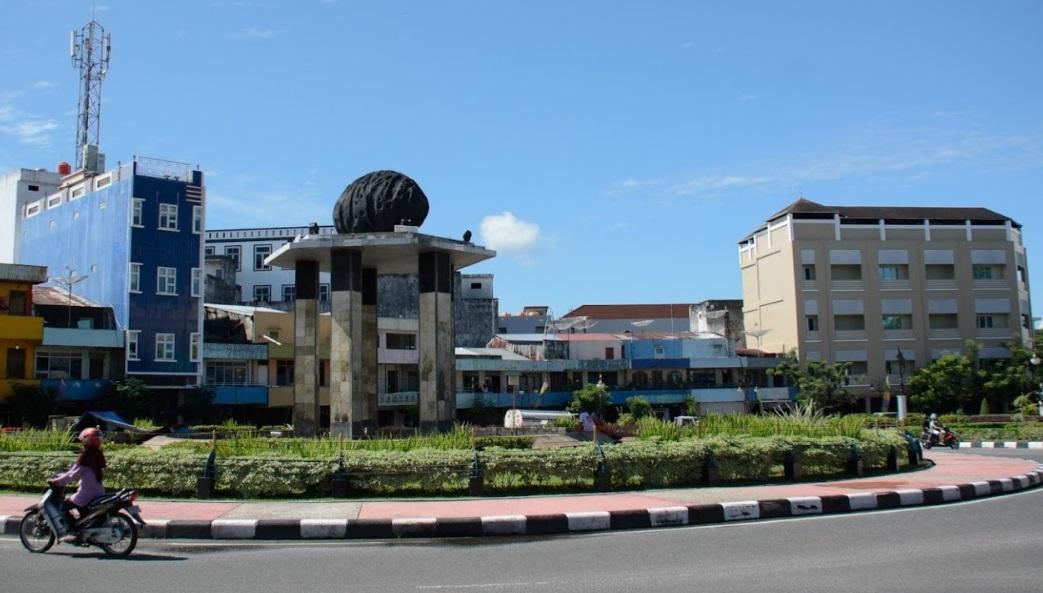Tanjung Pandan belvárosa