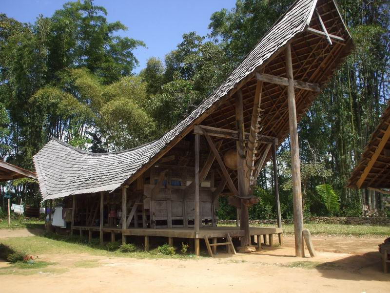 Tradicionális ház Mamujuban