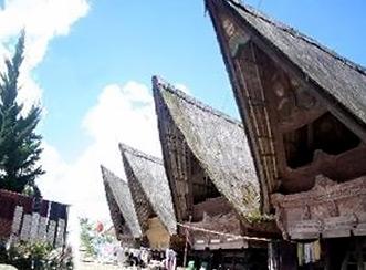 Jangga hagyományos házai