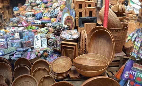 Ubud piacán a tradicionális helyi portékákat vásárolhatjuk meg.